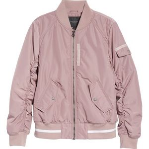 NWT Marc New York Twill Nylon Bomber